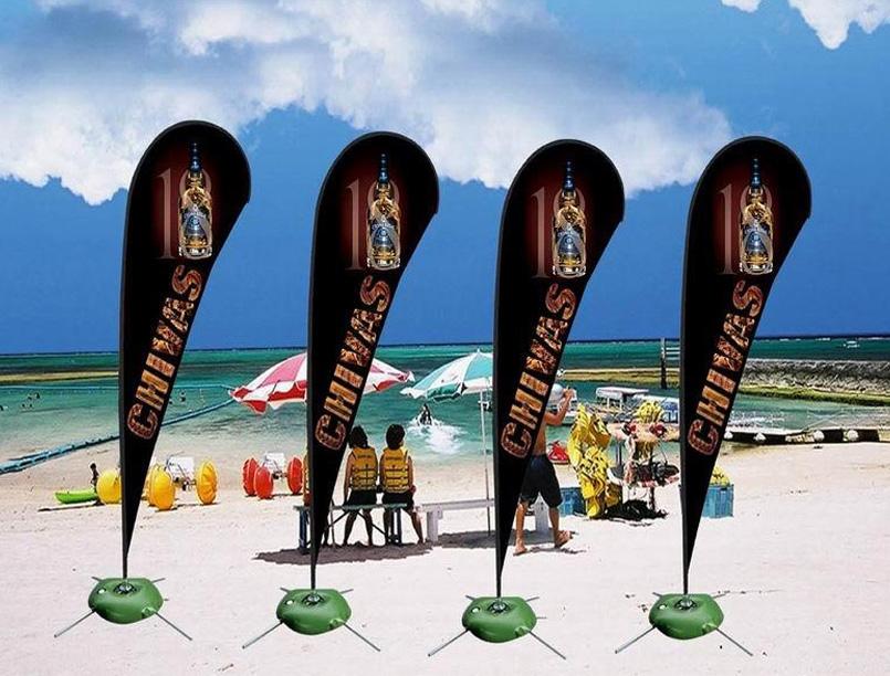 热升华沙滩旗