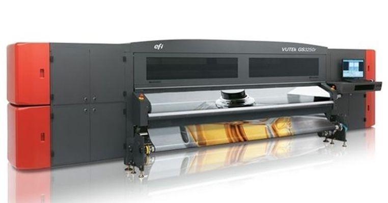 美国进口EFIUV喷印设备